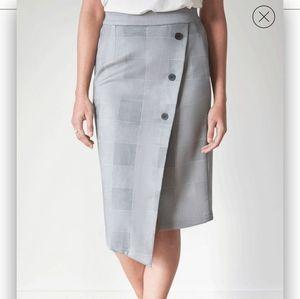 Laurina Plaid Skirt